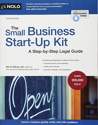 Small Business Start-Up Kit, The: A Step-by-Step Legal Guide Business Kit