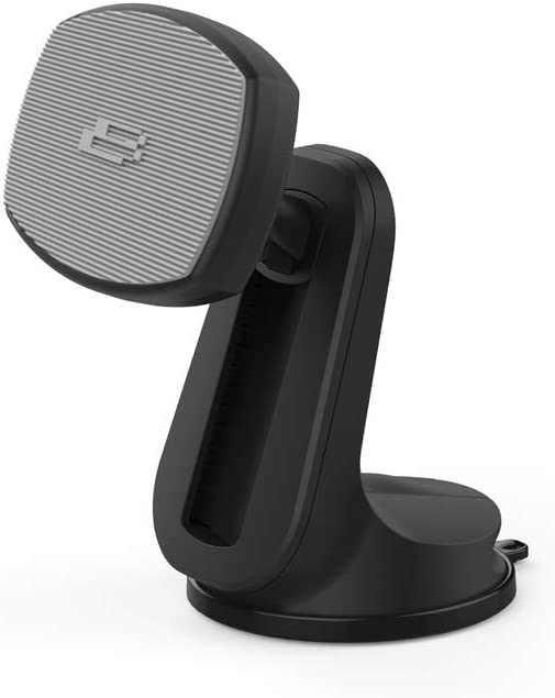 Bracketron BT2-653-2 PwrUp Qi Magnet Mount Wireless Car Charger Phone Dash and Vent Mount for Samsung Galaxy S9 S8 S7 Edge Note 9 iPhone Xs Max XR X 8 Plus Google LG