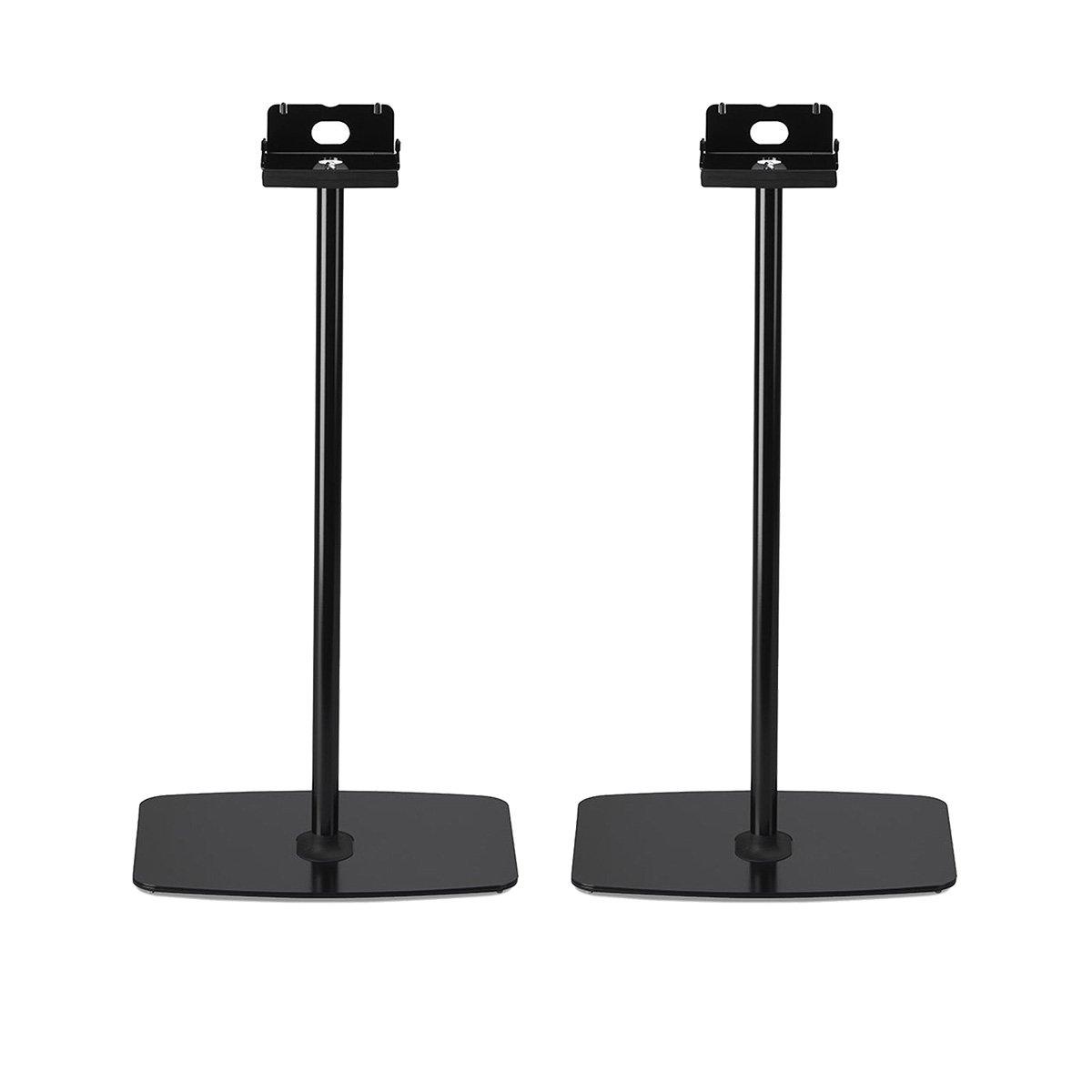 Flexson Horizontal Floor Stands for Sonos PLAY:5 - Pair (Black)