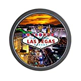 CafePress – Las Vegas – Unique Decorative 10″ Wall Clock
