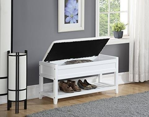 Mobile Storage Vanity Bench (ioneyes Desk White Storage With Bench ZZUNY37081557RCIF)