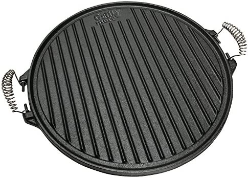 GRILL & MORE Essentials, Plaque de Cuisson 2 en 1, Plaque en
