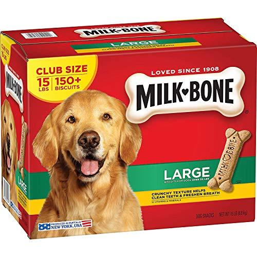 Milk-Bone Dog Biscuits, Large (15 lbs.) (Milk Bone Brushing Chews Bad For Dogs)