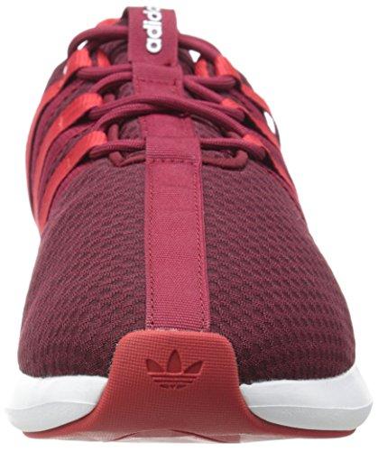 Adidas Originals Mens Sl Lus Levensstijl Racer Sneaker Collegiale Bordeaux / Light Scarlet / Hardlopen Wit
