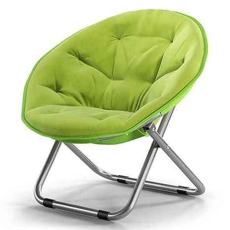 XIAOYAN Silla Plegable Lazy Loungers Silla Estructura de ...
