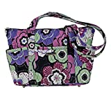 Petal Me Pretty Quilted Cotton Mini Shopper Tote Handbag