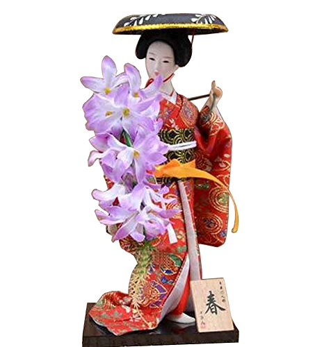 (Japanese Traditional Doll Geisha Doll Antique Japanese Dolls [A] )