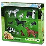 Collecta Dog and Puppy Boxed Set, 10-Piece