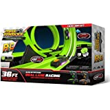 Max Traxxx R/C Tracer Racers High Speed Remote Control Twin Loop Track Set