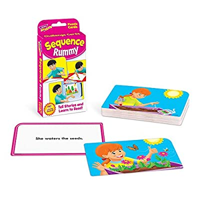 Sequence Rummy Challenge Cards: Toys & Games