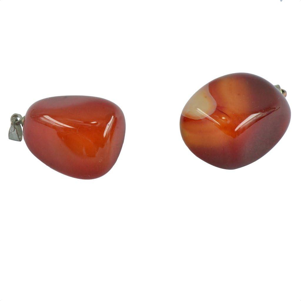 Rose Quartz Hellery 5/× Gemstone Charm Beads Crystal Quartz DIY Stone Pendants For Necklace Earring Jewelry Making
