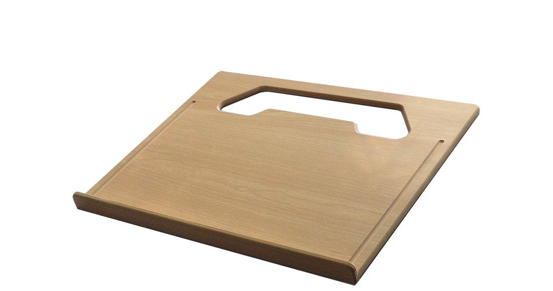 "Wheeldesk Executive Size (18 1/2"" x 14 1/2"") Car Table – E-book & Notepad Vehicle Desk - Mobile Office - Steering Wheel Mountable Desk - Portable Automobile Desk For Laptop Computer/iPad - Car Tray"