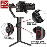 Zhiyun Crane 2 Gimbal 3-Axis Camera Stabilizer With Follow Focus Control Handheld Gimble With Intuitive OLED Display and 18 Hours Runtime and 7 Pound Max. Payload For Almost All The DSLR And Mirrorles