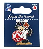 MLB Boston Red Sox Disney Mickey Wind Up Collectible Trading Pin