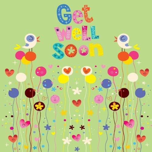 Get Well Soon: Message Book, Guest Book, With Anti Stress Colouring Pages, Scrap Book, Keepsake Memory Book For Family And Friend To Write In, ... 8.5