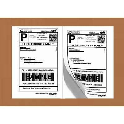 half-sheet-self-adhesive-shipping