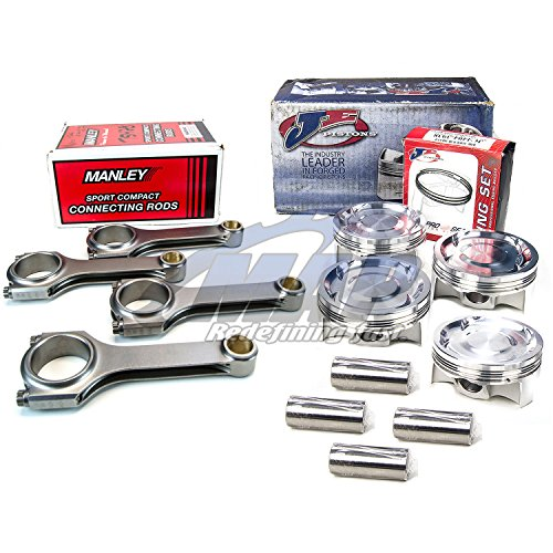 JE Pistons Manley H-Beam Rods Subaru EJ257 Block with EJ205 Head 99.5mm STI WRX