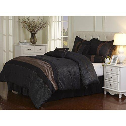 Bronze Comforter Set - 8