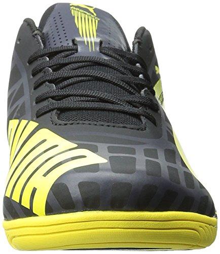 Puma evoSPEED Star IV Piel Zapatillas Black/Blazing Yellow/Grey