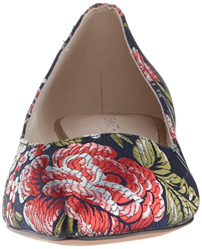 Women's Low Floral Heel Pump Ames Kenneth York Cole New Navy qZUUFa