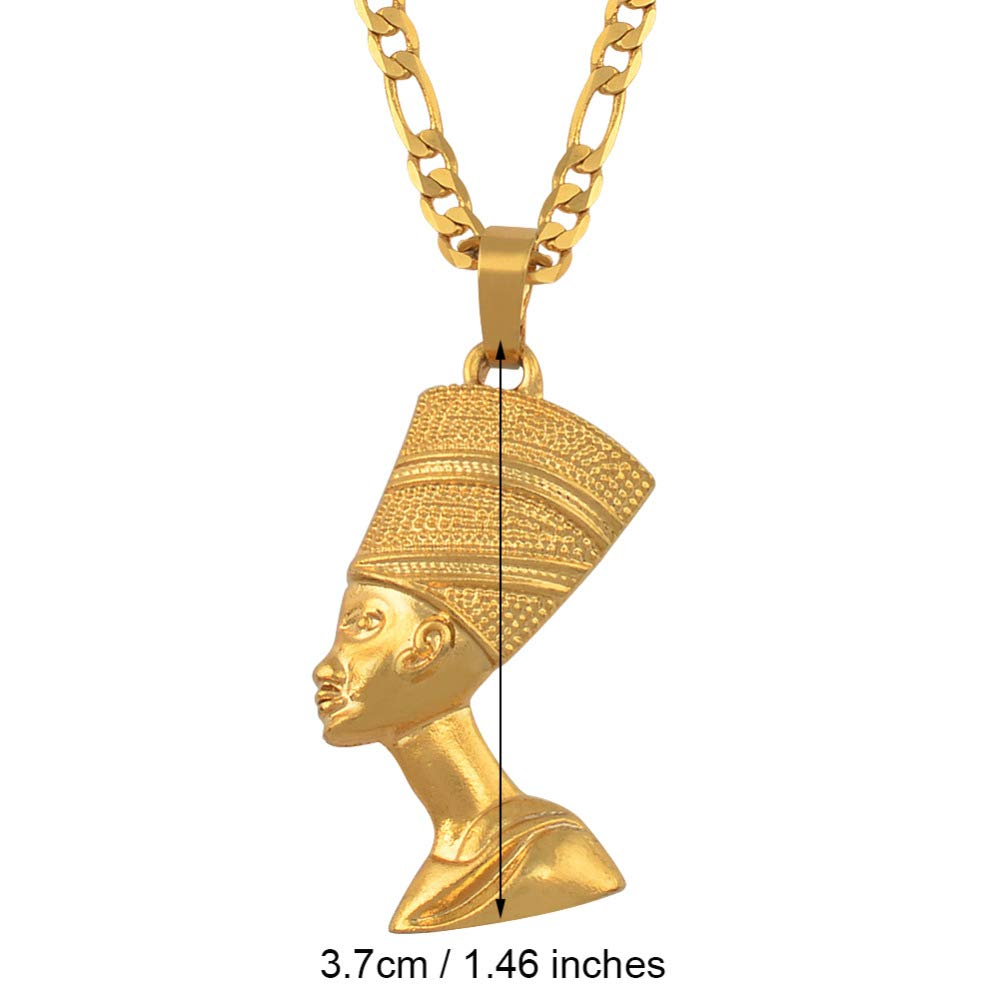 TZN/&PENDMA Pendant Necklaces for Women Men Jewelry Gold Jewellery African Gift