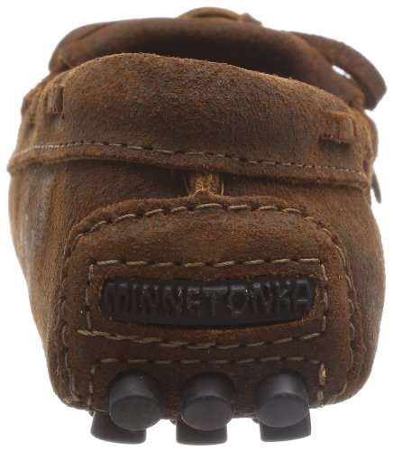 Minnetonka Kilty Driving Brown Ruff Women's Moccasin qZxZPwBRf