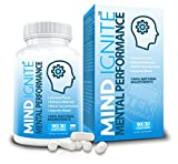 Mind Ignite™ Mental Performance 16 Ingredients - Extra Strength Nootropic Brain Supplement for Focus, Energy, Memory, Clarity, Concentration & More - Scientifically Formulated Brain Booster (1)