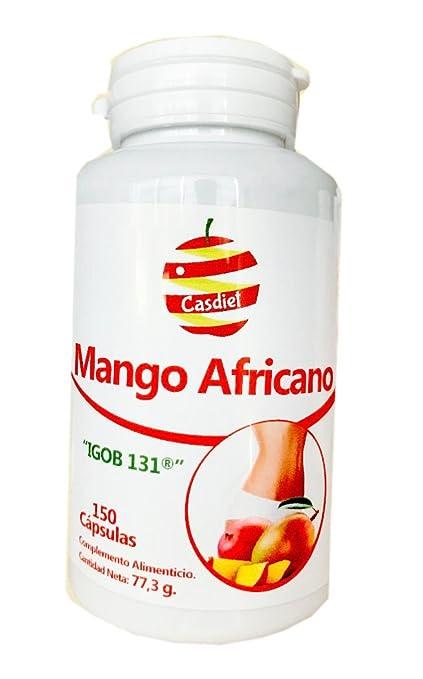 MANGO AFRICANO CASDIET -Envase Ahorro 150 cápsulas-: Amazon ...