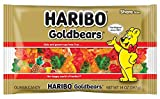 Haribo Goldbears Gummi Candy, 14 oz  (Pack of 12)