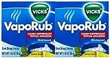 Vicks VapoRub Topical Cough Suppressant Ointment - 1.76 oz - 2 pk