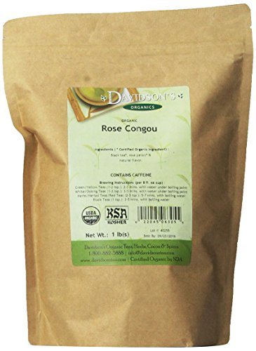 (Davidson's Tea Bulk, Rose Congou, 1 Pound Bag)