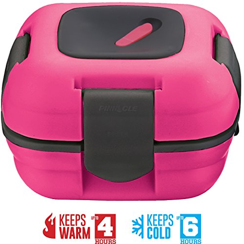 Lunch Box ~ Pinnacle Insulated Leak Proof Lunch Box for Adu