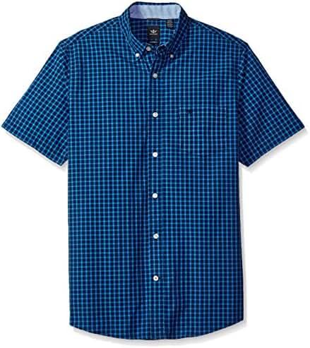 Dockers Men's Long Sleeve Essential Poplin Button Front Woven Shirt