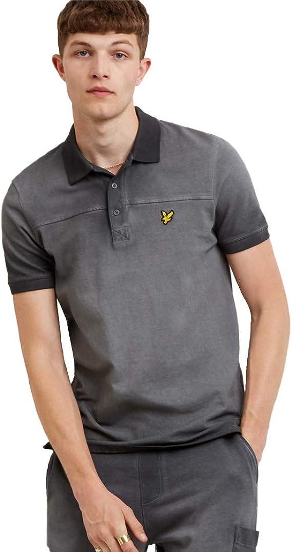 Lyle & Scott Ink Wash Polo Shirt - Light Silver-S: Amazon.es: Ropa ...