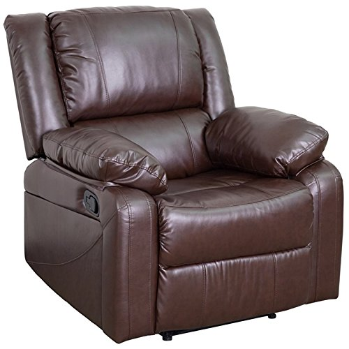 Flash Furniture Harmony Series Brown Leather Recliner ()