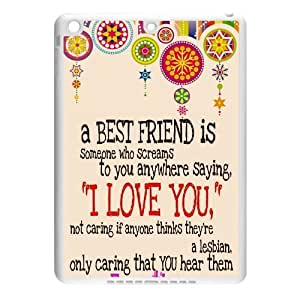 Zheng caseZheng caseiphone 4/4s Air Covers TPU Back Protective-Best Friends Quotes with Aztec Tribal Style Case Perfect as Christmas gift(2)