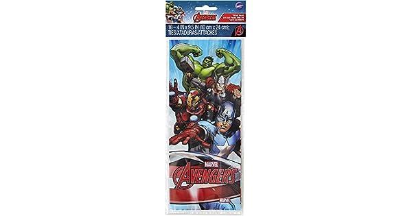 Amazon.com: Wilton – 16 ct Marvel Avengers Treat Bolsas ...