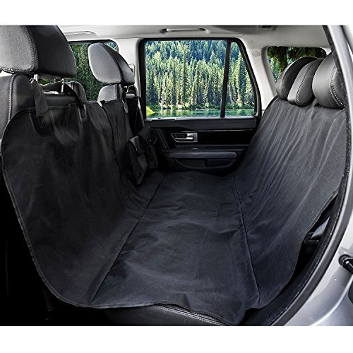 Scotamalone Pet Seat Cover -Dog Car Seat Cover With Seat Belt, Pet Front & backseat cover for Cars, Trucks, and Suv's - WaterProof & NonSlip Hammock Convertible
