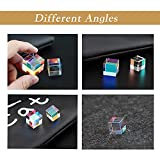 CMY Color Cube, RGB Dispersion Prism Cube with Led