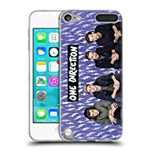 Official One Direction Purple Group Icon Soft Gel Case for Apple iPod Touch 5G 5th Gen
