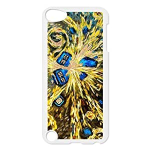 Doctor Who Van Gogh's Exploding Tardis Case Skin Cover for iPod Touch 5th Generation by icecream design