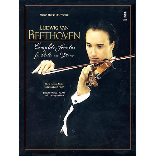 (Beethoven - Complete Sonatas for Violin Piano Music Minus One Series Softcover with CD by Mario Hossen)