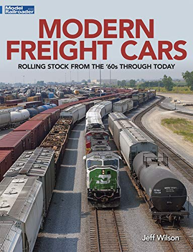 Modern Freight Cars Rolling Stock from the 60's Through Today