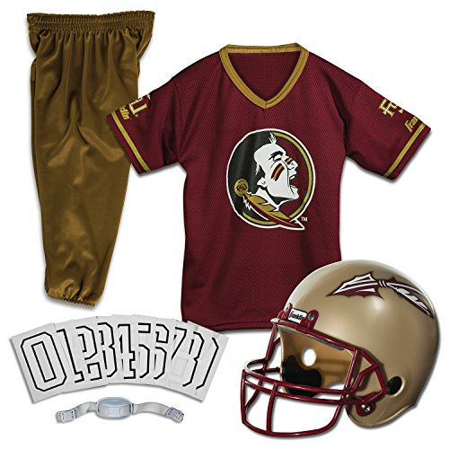 Franklin Sports NCAA Florida State Seminoles Deluxe Youth Team Uniform Set, -
