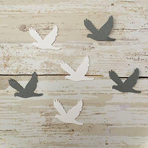 (Dove Vinyl Stickers, Bird Decorations, Nature Party Supplies, Bird Theme Party, Bird Cut Out, Sticker)