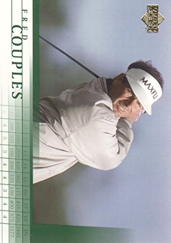 2001 Upper Deck Golf #7 Fred Couples (Upper Deck Golf Card)