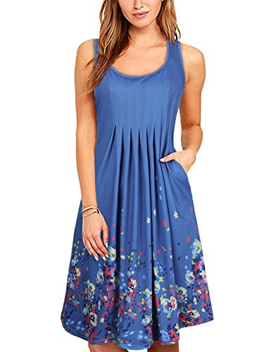 knee length casual spring dresses - 6