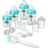 Tommee Tippee Advanced Anti Colic Newborn Baby Bottle Feeding Starter Set