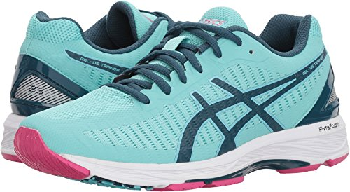 ASICS Women's Gel-DS Trainer 23 Aruba Blue/Ink Blue/Fuchsia Purple 12 B US