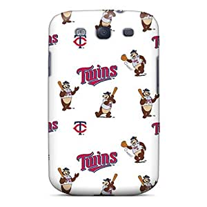 Hard Plastic Galaxy S3 Case Back Cover,hot Minnesota Twins Case At Perfect Diy